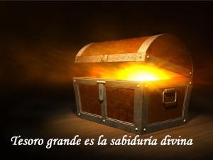 buscar sabiduría como el tesoro más grande