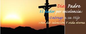 Más bienaventurado es dar que recibir, el ejemplo del Padre